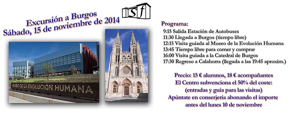 excursión Burgos