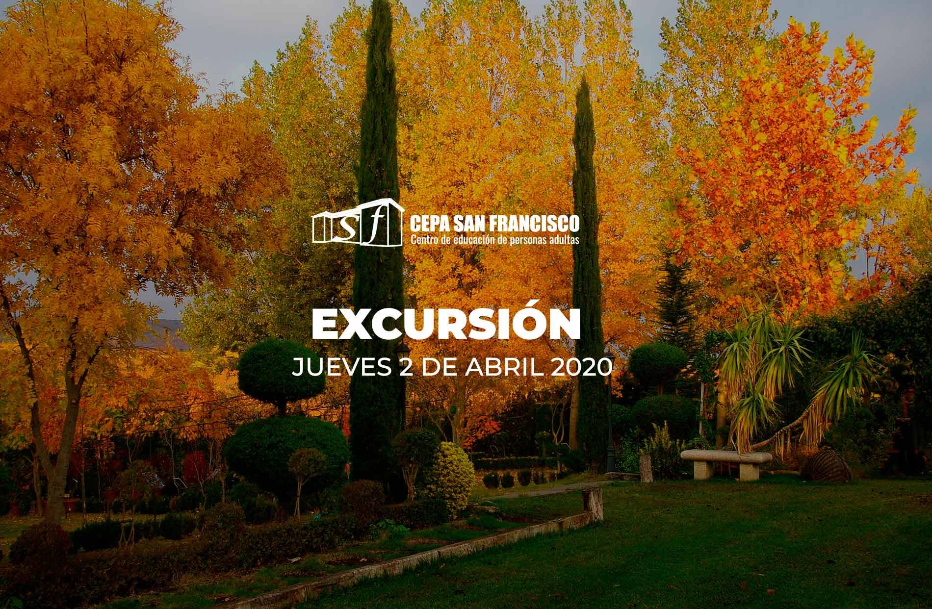 Excursión 2 de abril 2020