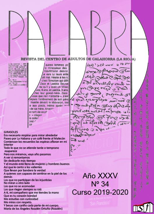 Revista Palabra 2020